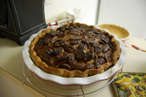 Bailey's Pecan Pie
