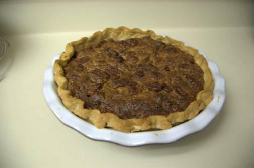 Jack Daniel's Butterscotch Pecan Pie